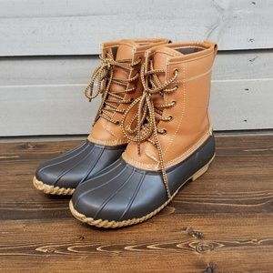 Winter Bean Duck Boots Target 8 inch Lined (9)